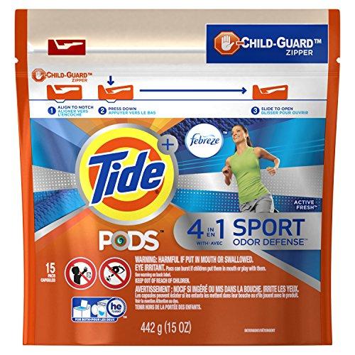 Tide Pods Febreeze Odor Defense, 15 Count