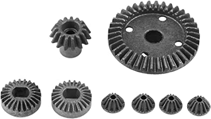 3Pcs RC Car 30T Differential Diff Gear for WLtoys 144001 1//14 RC Car Accs