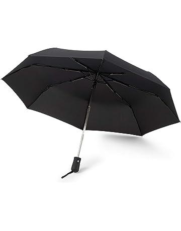 GadHome Paraguas automático a prueba de viento y estable | Paragua de bolsillo compacta y ligera
