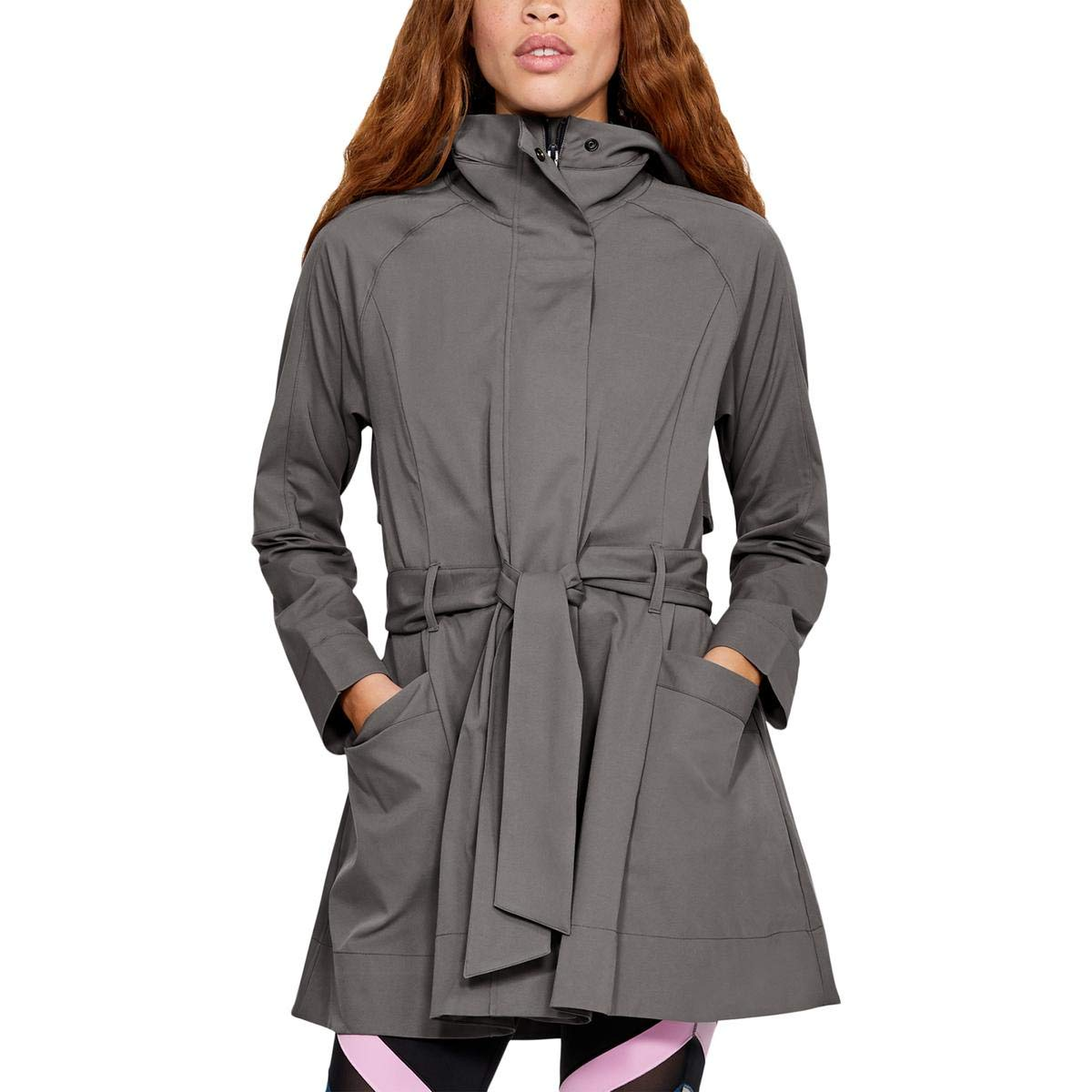 Under Armour Women's Misty Copeland Signature Woven Trench , Mink Gray (548)/Tonal, X-Small by Under Armour (Image #1)
