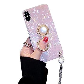 Amazon.com: BONTOUJOUR - Carcasa de TPU para iPhone con ...