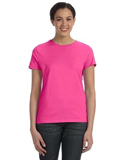 0be794b6be Hanes Women s Nano-T® T-shirt at Amazon Women s Clothing store  Fashion T  Shirts