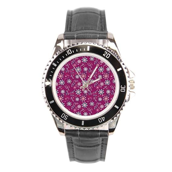 kosmore Vintage piel Strapped relojes mujer hombre pulsera de cuero relojes