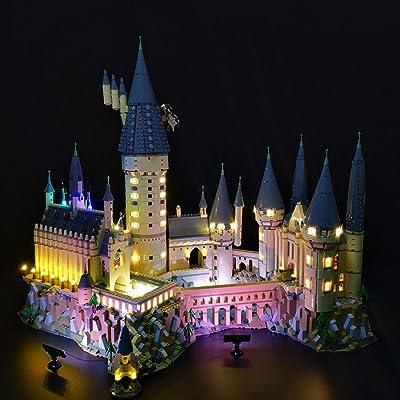 RAVPump Light Set for Harry Potter Hogwarts Castle Model - LED Light Kit Lighting Set Compatible with Lego 71043 ( Lego Set not Included ): Toys & Games