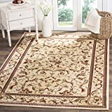 Safavieh Lyndhurst Collection LNH322A Traditional Scrolling Vines Ivory Area Rug (8′ x 11′)