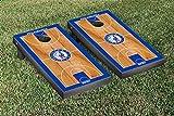 Philadelphia Sixers 76ers NBA Basketball Regulation Cornhole Game Set Basketball Court Version