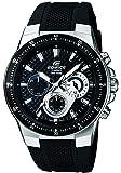 Casio EF-552-1AVEF EDIFICE - Reloj en caja sólida de acero inoxidable, 10 BAR, para Hombre, con Correa de Acero macizo…