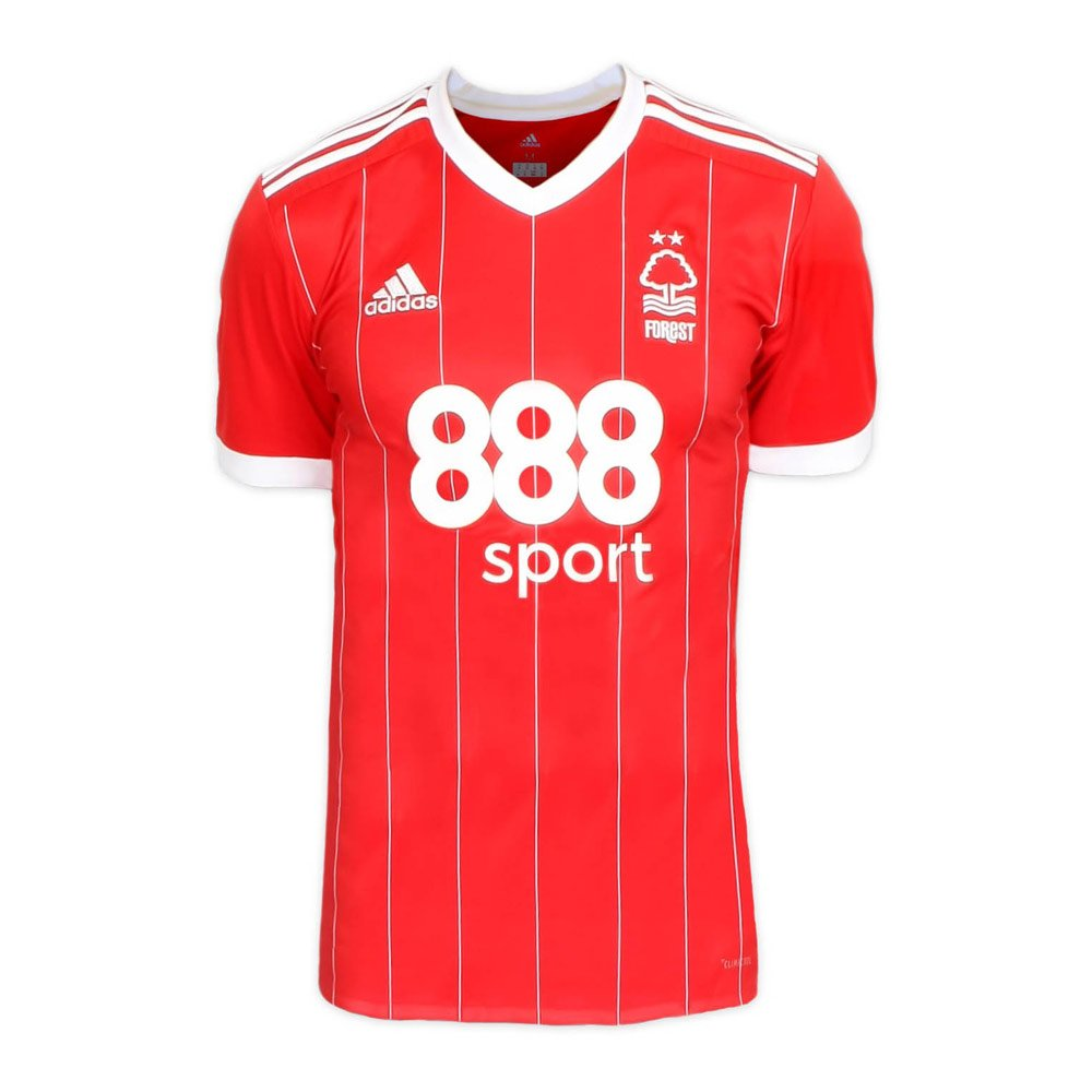 2017-2018 Nottingham Forest Adidas Home Football Shirt B0749DFZ9YRed XL 44-46\