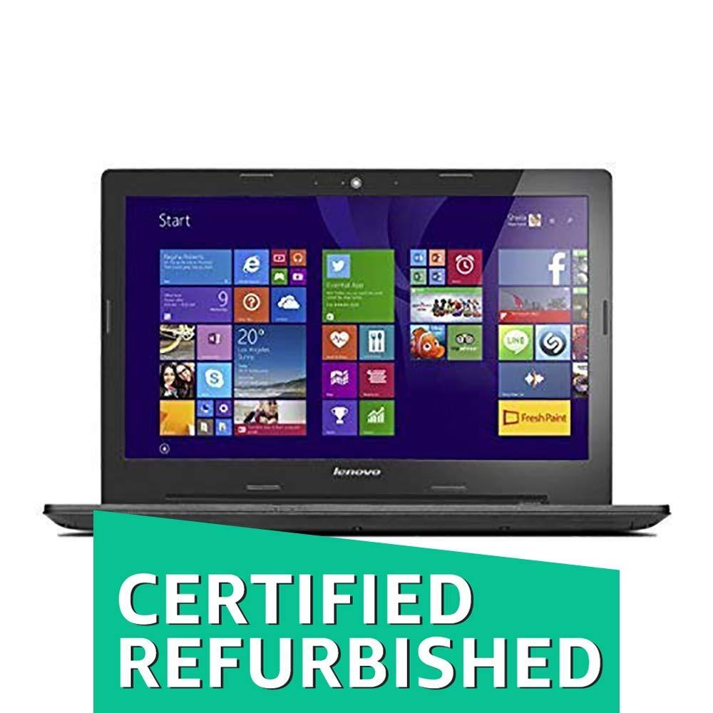 (Renewed) Lenovo G50-80 80E502UKIN 15 6-inch Laptop (Core  i5-5200U/4GB/1TB/AMD Radeon R5 M330 Graphics/Windows 10) Black (Without Bag)