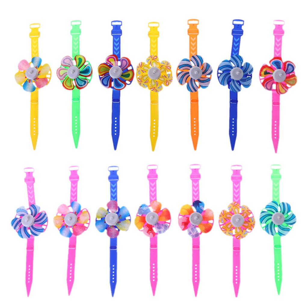 leyeruk Novelty Windmill Watch Toy Watch Wind Spinner Kids Toy Party Supplies Gifts