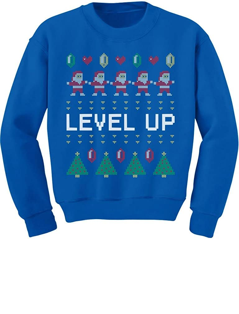 TeeStars Santa Video Game Ugly Christmas Sweater Arcade Toddler/Kids Sweatshirts 3T Blue GhPh3MMgf5P0f590o