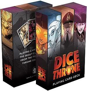 Albino Dragon Dice Throne Playing Card Deck