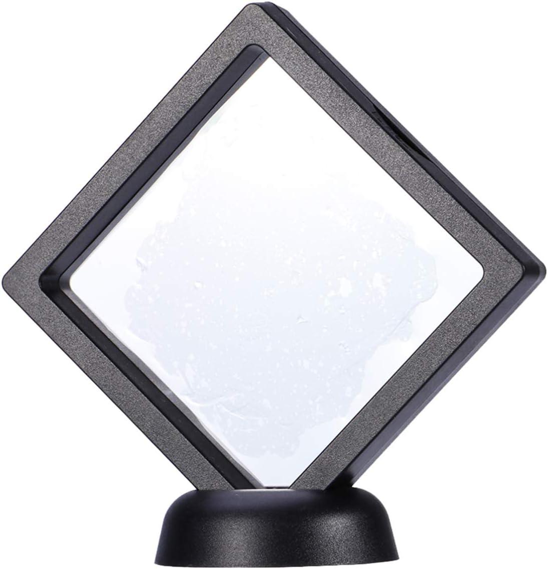 Jewellerys Displays Empty Coins 3D Floating Frame Shadow Box Frame TPU Film Box