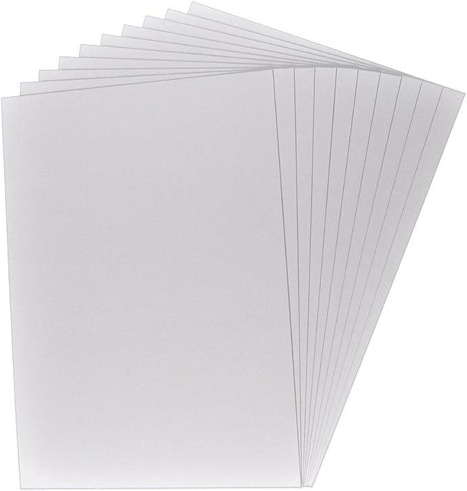 formato A4 grosor de la cart/ón: 0,1 cm//1 mm 25 x encuadernador cart/ón color: gris-marr/ón cart/ón presentaci/ón cart/ón para manualidades cart/ón