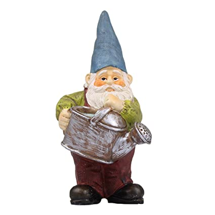 NW Wholesaler Fairy Garden Supply - Gnome Figurine - Watering Gnome