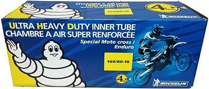 Michelin Ultra Heavy Duty Inner Tube 140//80-18 TR-4