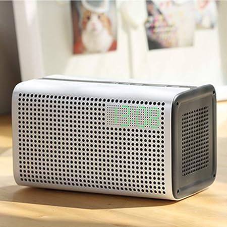 AWJ Bluetooth Digital Reloj de Alarma de Mesa Conexión de Carga ...