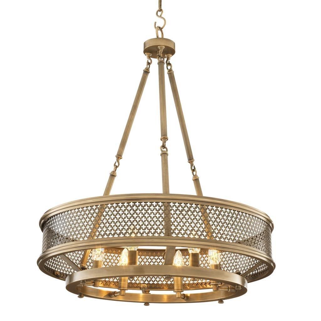 Amazon com eichholtz antique brass chandelier savoie kitchen dining