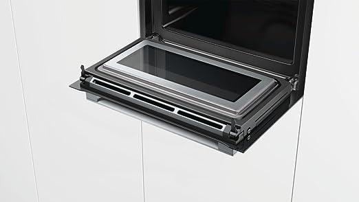Bosch serie 8 - Horno compacto con microondas cmg6764b1 inoxidable: Amazon.es: Hogar