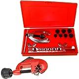 9pcs kit d'outils de plomberie Plomberie tuyaux tubes torchage Plombiers avec coupe-tube 3-30mm