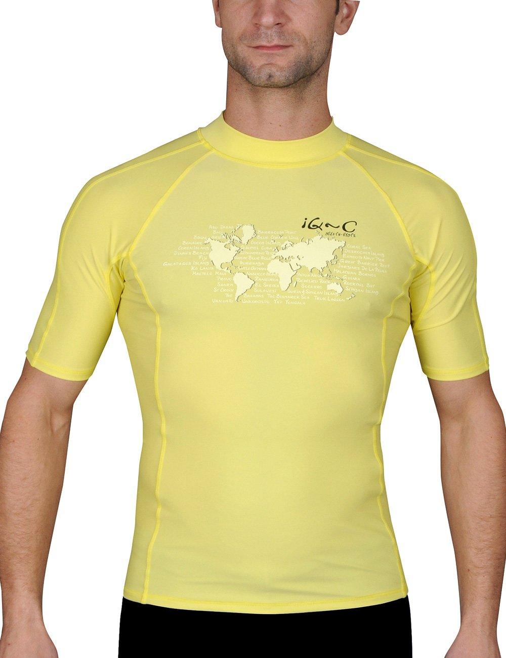 IQ-Company, Maglietta per Sport Acquatici, Protezione UV, Uomo Ocean 645544_2100