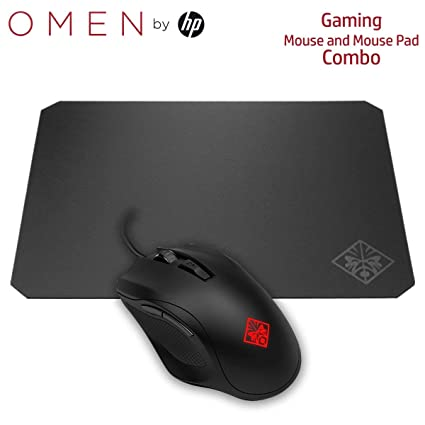 HP Gaming Combo OMEN 400 Mouse and Mouse Pad (3ML38AA, 2VP01AA)