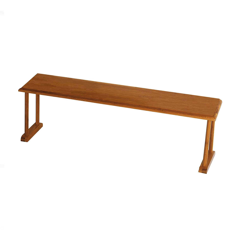 "Lipper International 8879 Bamboo Wood Over-The-Sink Kitchen Shelf, 30"" x 6-1/4"" x 9"""