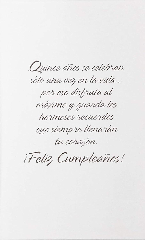 Amazon.com : A La Quinceañera Feliz Cumpleanos - Happy ...