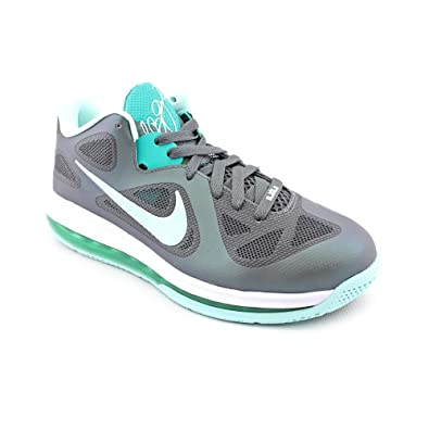 Nike Lebron 9 Low Easter Mens Basketball Shoes 510811-001 Dark Grey Mint  Candy-