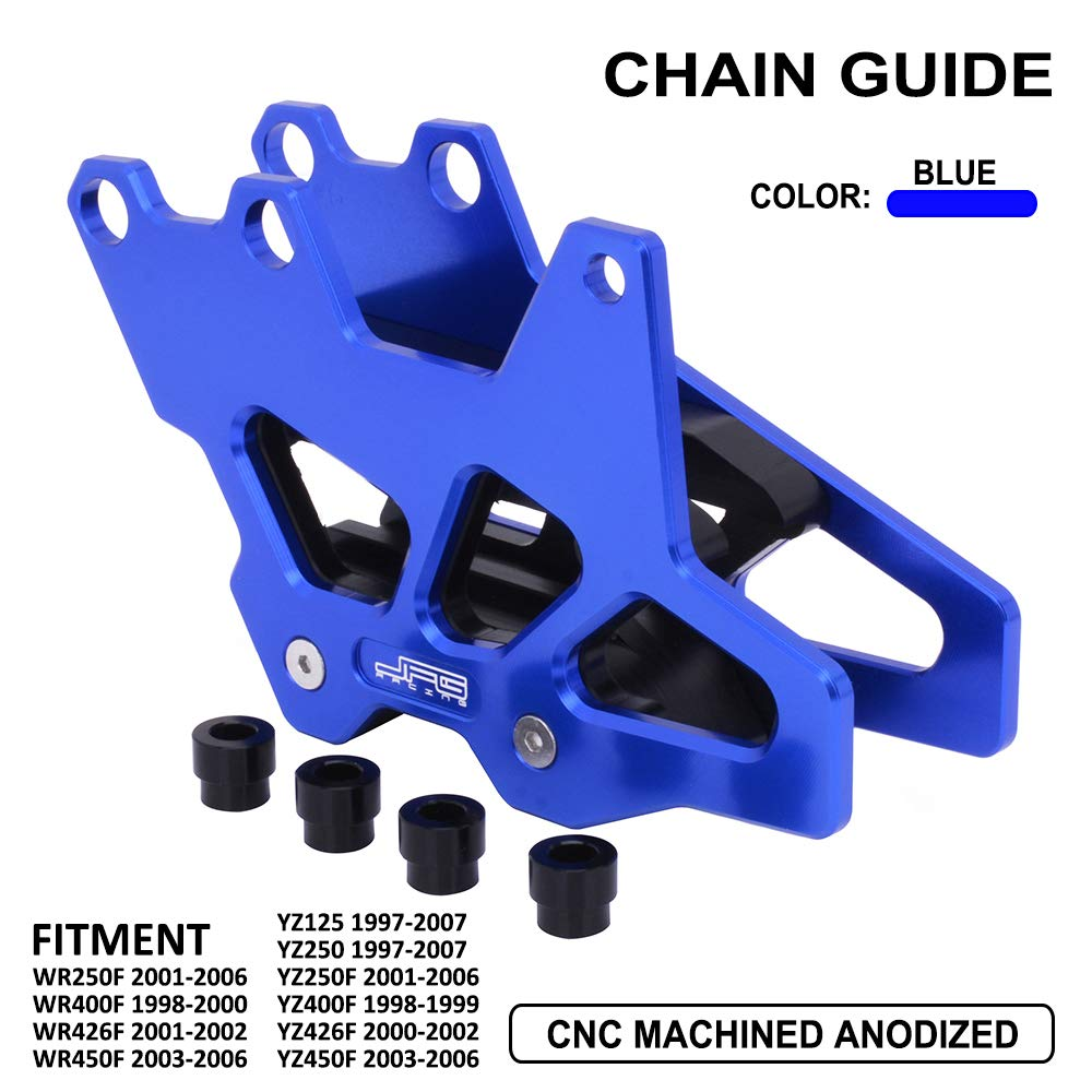 JFG RACING CNC Chain Guard Guide Protector For Yamaha WR250F WR400F WR426F WR450F YZ125 YZ250 YZ250F YZ400F YZ426F YZ450F by JFG RACING