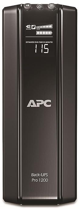 201 opinioni per APC Power-Saving Back-UPS PRO Gruppo di continuità UPS 1200VA BR1200G-GR- AVR, 6