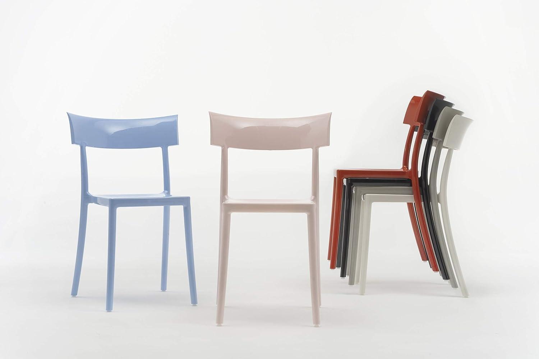 Kartell catwalk sedia policarbonato cm set