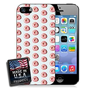 Pink Sprinkle Donuts Pattern iPhone 5/5s Hard Case