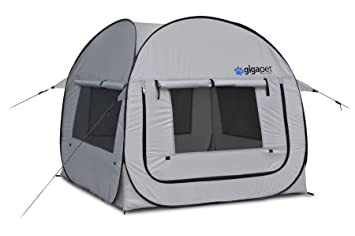 GigaTent Pet PopUp Tent with Fitted Foam Pad (Large)  sc 1 st  Amazon.com & Amazon.com : GigaTent Pet PopUp Tent with Fitted Foam Pad (Large ...