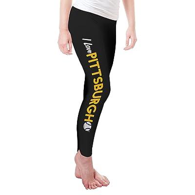 Twisted Envy I Love Pittsburgh Baseball Women's Funny Leggings