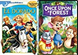 Classic Animation Bundle: The Road to El Dorado & Once Upon a Forest 2-Movie Set