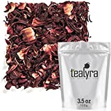 Tealyra - Pure Hibiscus Herbal Tea - Loose Leaf Tea - Organically...