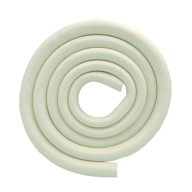 M2cbridge U Shape Extra Thick Furniture Table Edge Protectors Foam Baby Safety Bumper Guard 6.5 Ft (Off White)