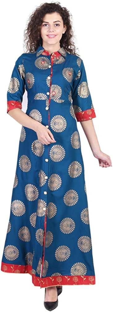 Vihaan Impex Robe Indienne Tunique Femme Kurti VIKU8025