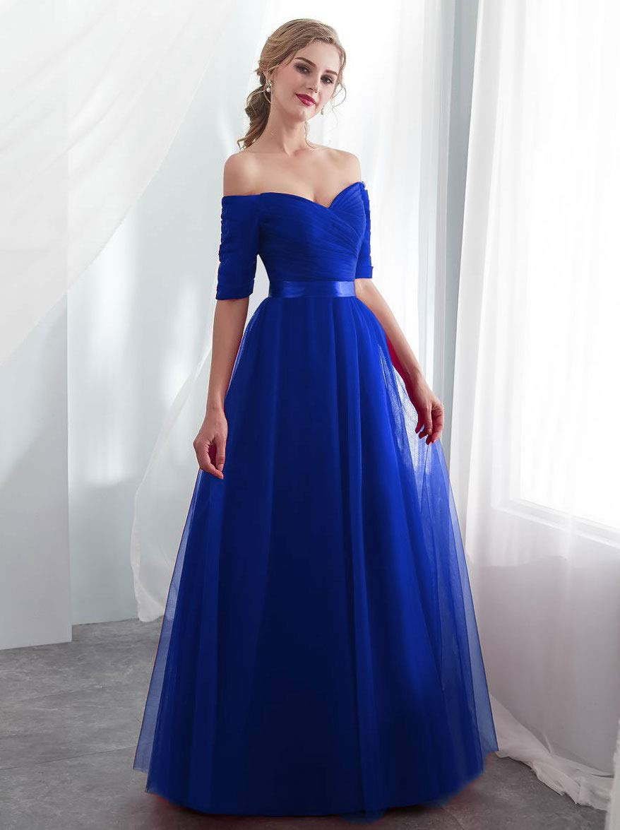 Beauty-Emily Fashionable Off-Shoulder Prom
