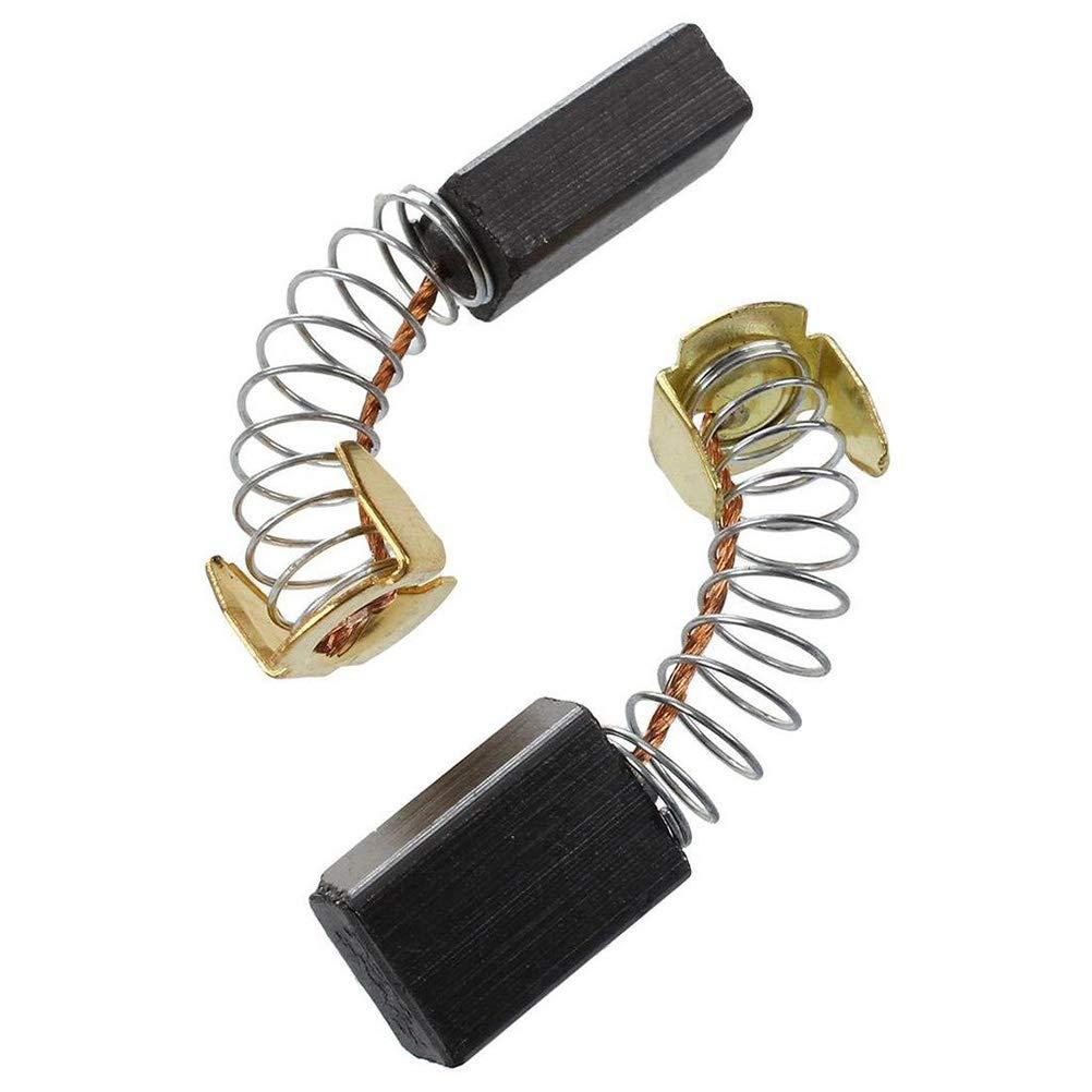 Ukcoco 10 Stück Kohlebürsten Ersatzbürsten Elektrowerkzeug Für Elektrische Bohrmaschine Motor Cb103 6 X 10 X 15 Mm Gewerbe Industrie Wissenschaft