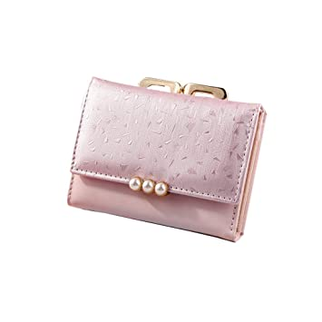 5f165cdef0d5 Amazon.com: ❤️Sunbona Card Holder Wallet Women's Fashion Tri-Fold ...