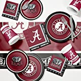 University of Alabama Game Day Party Supplies Kit
