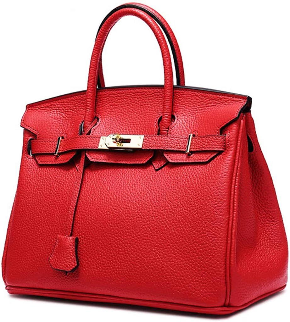 Lyfzxh Borse donna borse a tracolla shopping regolabile belle borse in pelle di vacchetta strato superiore moda Brown2