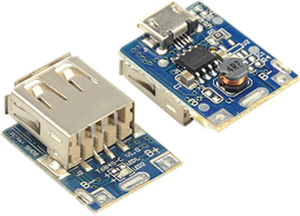 10Pcs 5V 1A Boost Step Up Power Supply Module Batteria al Litio Scheda di Protezione della Carica USB OKBY Modulo di Alimentazione