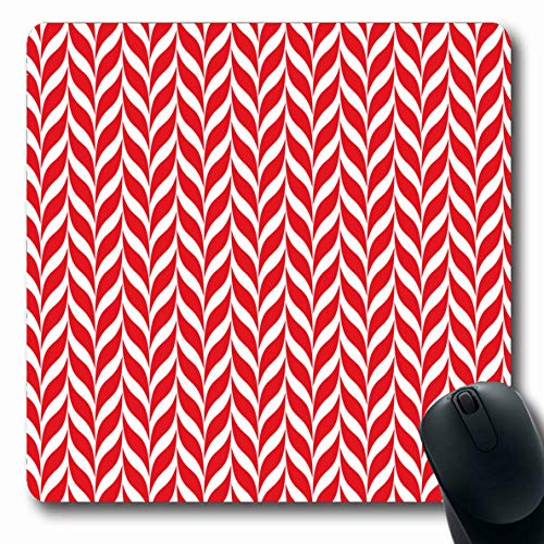 - LifeCO Mouse Pad Celebration Red Pattern Candy Canes Xmas Twisted Holidays Stripe Christmas Simple Spiral Winter Oblong Shape 7.9 x 9.5 Inches Mousepad for Notebook Computer Mat Non-Slip Rubber