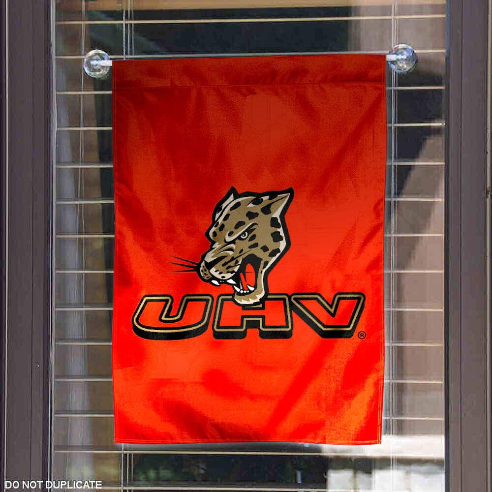 Houston Victoria Jaguars Garden Flag College Flags and Banners Co