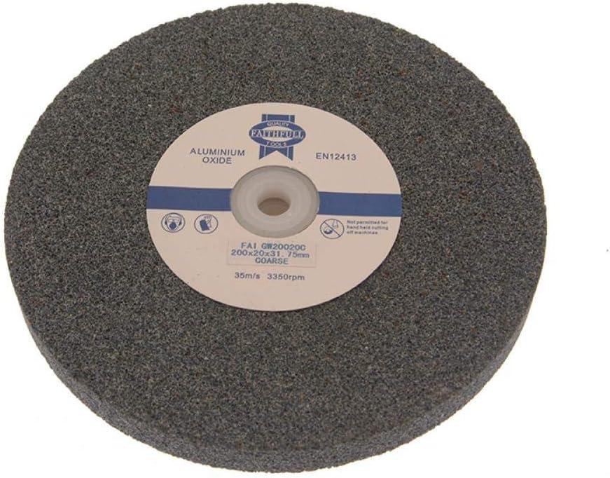 Faithfull GW20020C Coarse Alox Mola a disco multiuso 200 x 20 mm