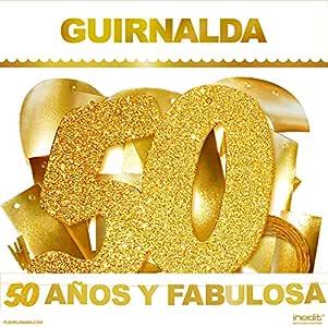 50 años cumpleaños Guirnalda Purpurina Dorada Fiesta de Cumpleaños 50 y Fabulosa Celebración 50 años: Amazon.es: Hogar
