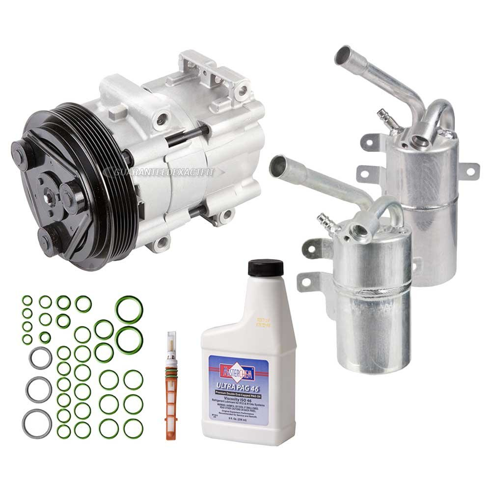 New Ac Compressor Clutch With Complete A C Repair Kit 2009 Econoline Wiring Diagram For Ford Focus Sohc Buyautoparts 60 80223rk Automotive